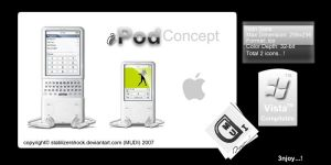 iPod Concept Icons by stablizershock