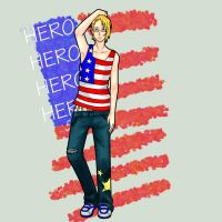 APH: America by Lazy-Pineapple