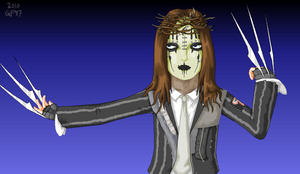 No. 1 -- Joey Jordison by purple-telvanni