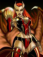 Succubus by DarkDragoonLord