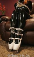 White Ballet Boots by bound-nicole-babe78