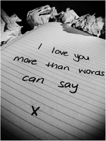 more than words can say --- x by sweetest-surrender