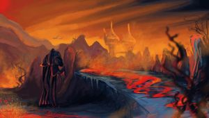 Molag Amur. Morrowind by vopoha