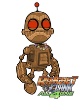Ratchet and Clank A41- Clank by DrakeLake