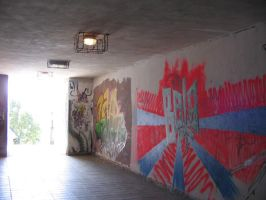 Graffiti subway by semireal-stock