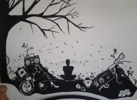 My Life in Black and White by dusunur
