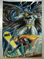 Bat and Son by benbal