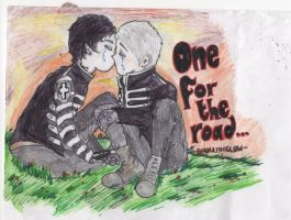To celebrate my 1000th pageview.. FRERARD!!! by GHOULISHGLOW