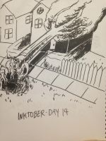 2016 - 10oct - Inktober (Day 14) by mosobot64