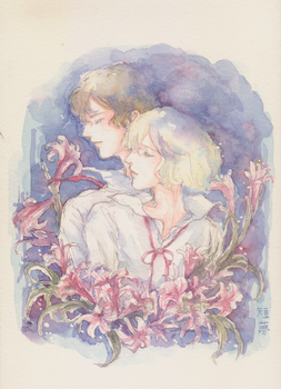 Flowers and Birds from a Faraway Country by yumesange