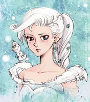 Elsa sketch by unconventionalsenshi