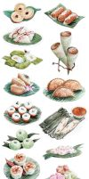 Indonesian Cakes Project by artemiscrow