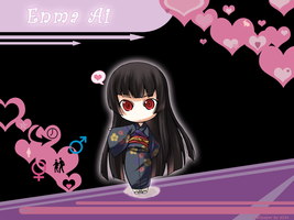 WP: Enma Ai by DinDeen