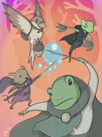 Leapwater Gang by Lucidious89