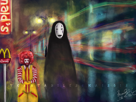 McDonald X Kaonashi by V-Cantabile