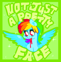 Not Just A Pretty Face by 8-Xenon-8