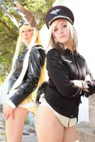 Erica Hartmann and Hanna-Justina Marseille 15 by PumkinSpice