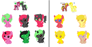 Breed foals for Samitham by wwizzard