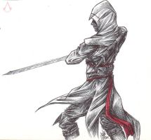 Altair - sketch by SixthIllusion