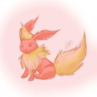 The Hottie (hehehe) ~Flareon by NAD-LifeOfficial