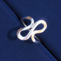 Forged Squiggle Ring #1 by harlewood