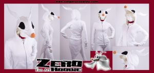 Ghost Dog Zero Hoodie Costume by calgarycosplay