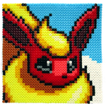 Flareon Portrait by Aenea-Jones
