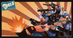 TEAM FORTRESS 2 : B.L.U by haruningster