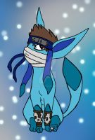 Zabuza the Glaceon by Sonyie
