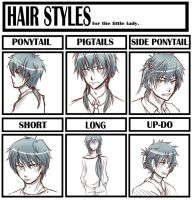 hair style meme with nioh by inazumaookami