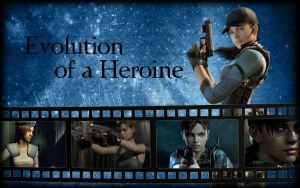 Evolution of a Heroine Version 1 by Isobel-Theroux