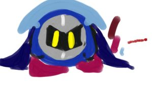 Meta knight XD by sillyrogue12