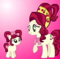 Cherry Jubilee and Chi-Chi by InsideOutGirlKatie
