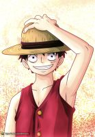 One Piece - Luffy by FajerPS