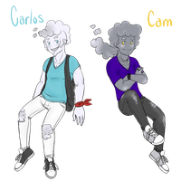 Genderbend: Carlos and Cam by MissPomp