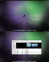 Arch KDE Andromeda File Manager by CraazyT
