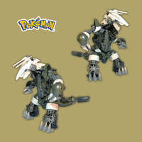 Lego: Pokemon Aggron by retinence
