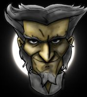 Count Olaf headshot by Eric--Draven