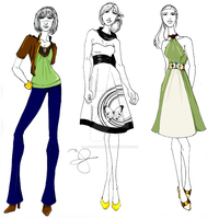Project Runway Season 3 Mini by ArtSquirrel