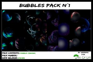 Bubbles Pack 1 by Gamung