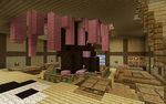 Minecraft Zen Restaurant 2 by KibaPandaRo