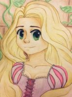 RAPUNZEL by Vintage-Elf