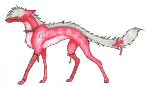 ANOTHER wolf by wingedwolf94