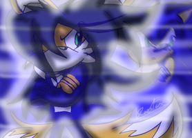 {.::She's more like Sonic...::.} by KurobaFox1412