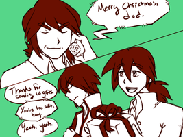 Trifecta Family Christmas by Der-Fuchsprophet