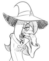 Sucy laughs at something by Triple-Q