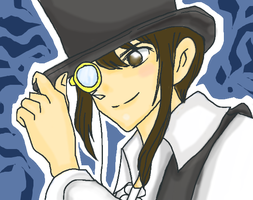 Me on the Style Conan Detective,XD. by Felzm