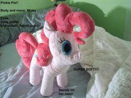 My Little Pony: Pinkie Pie Plush SOLD by Who-Butt