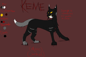 Keme's Reference by SombreDemeanor
