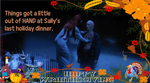 Wraith LOLIDAY Greeting (Wraithsgiving):  Sally by VelvetKevorkian333